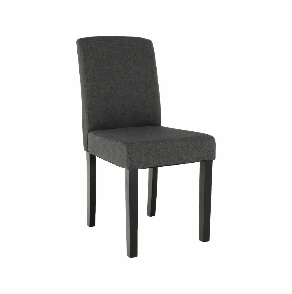 Jedálenská stolička, sivá/čierna, SELUNA
