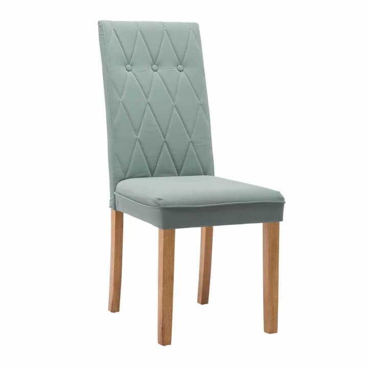 Jedálenská stolička, mentolová, látka/drevo, MERIKA
