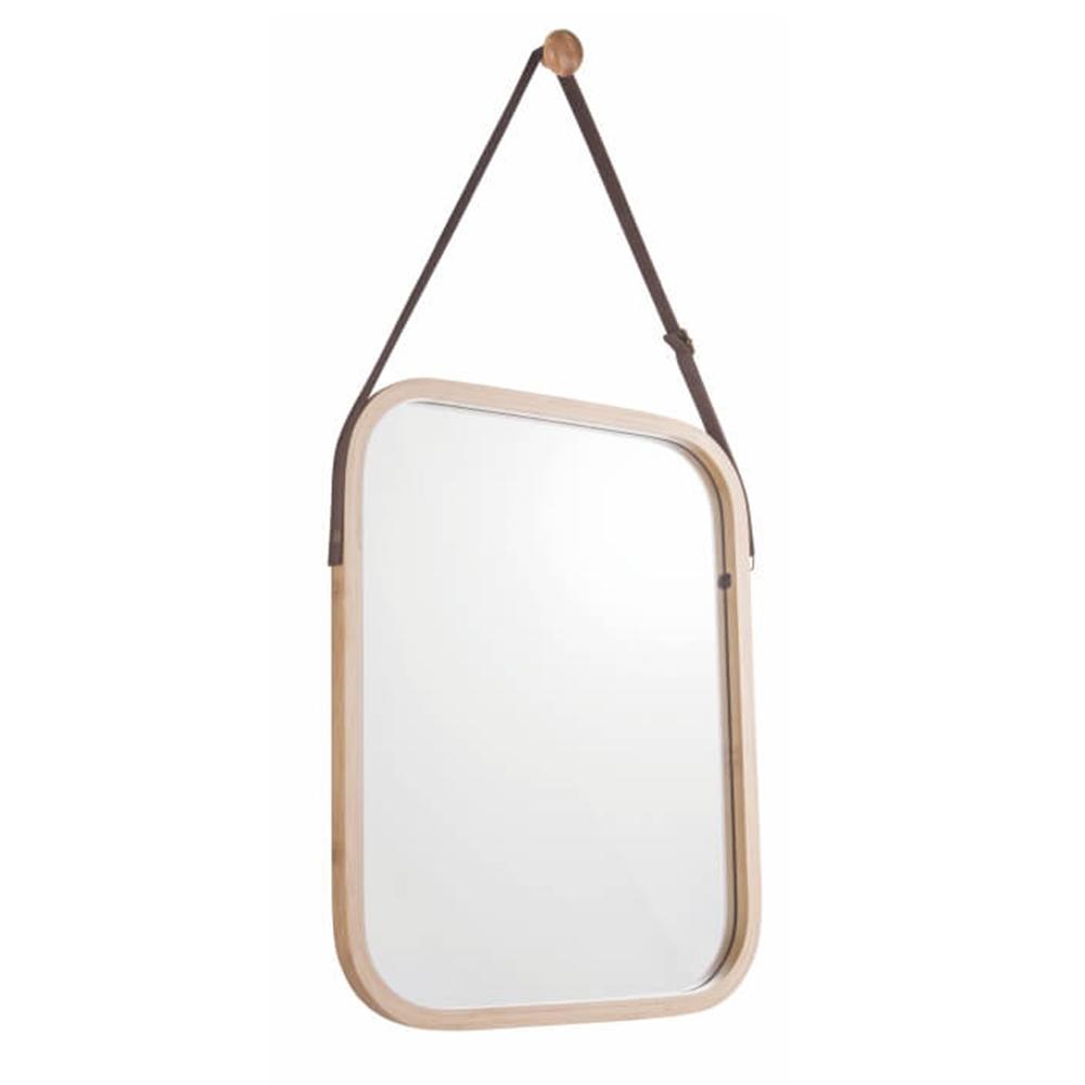 Zrkadlo, prírodný bambus, LEMI 2