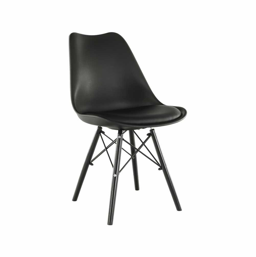 Stolička, čierna, KEMAL NEW