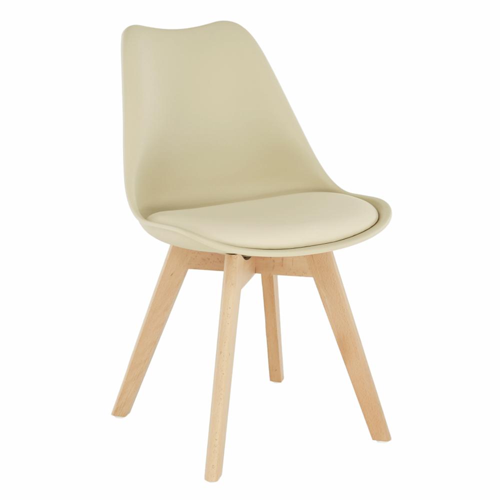 Židle, capuccino vanilková / buk, BALI 2 NEW, TEMPO KONDELA