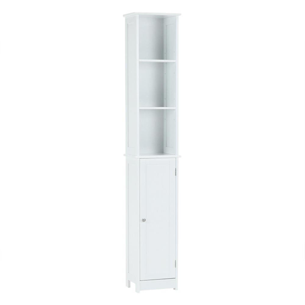 Magas szekrény, fehér, ATENE TYP 1