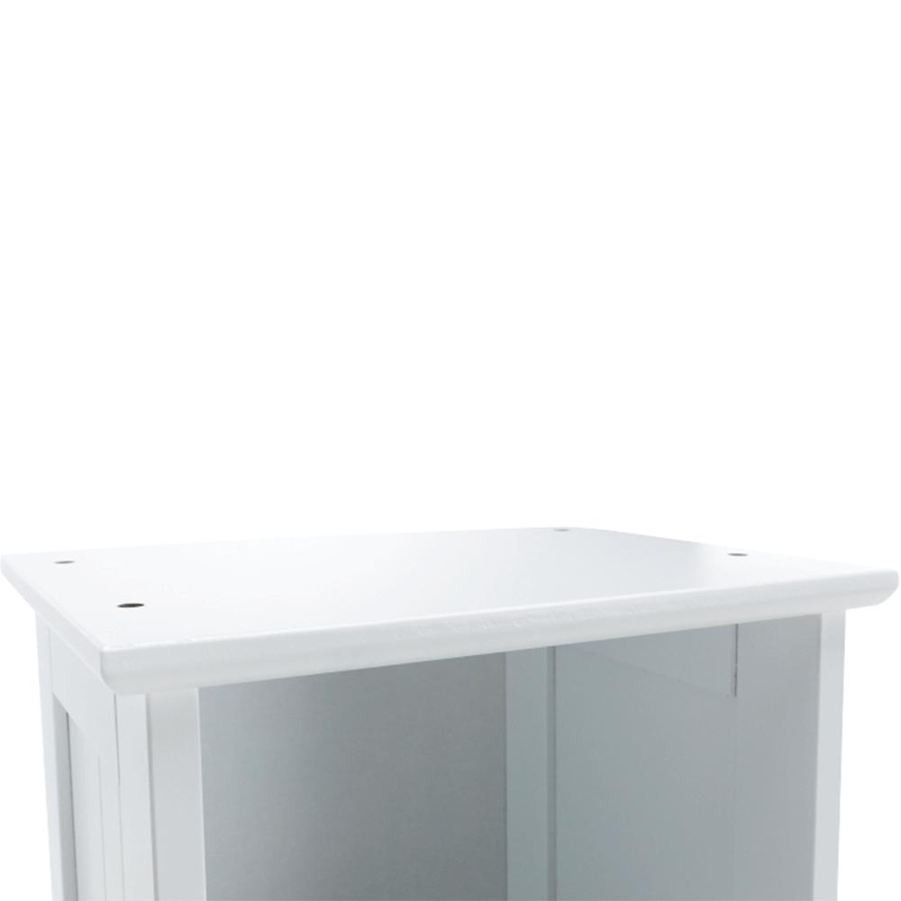 Vysoká skříňka, bílá, ATENE TYP 1