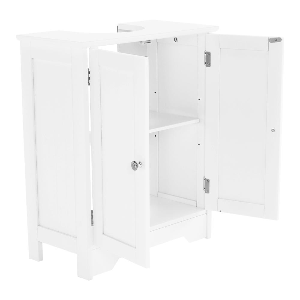 Skříňka pod umyvadlo, bílá, ATENE TYP 3