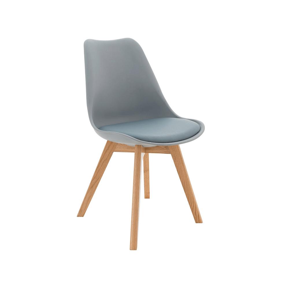 Židle, šedá / buk, BALI 2 NEW, TEMPO KONDELA