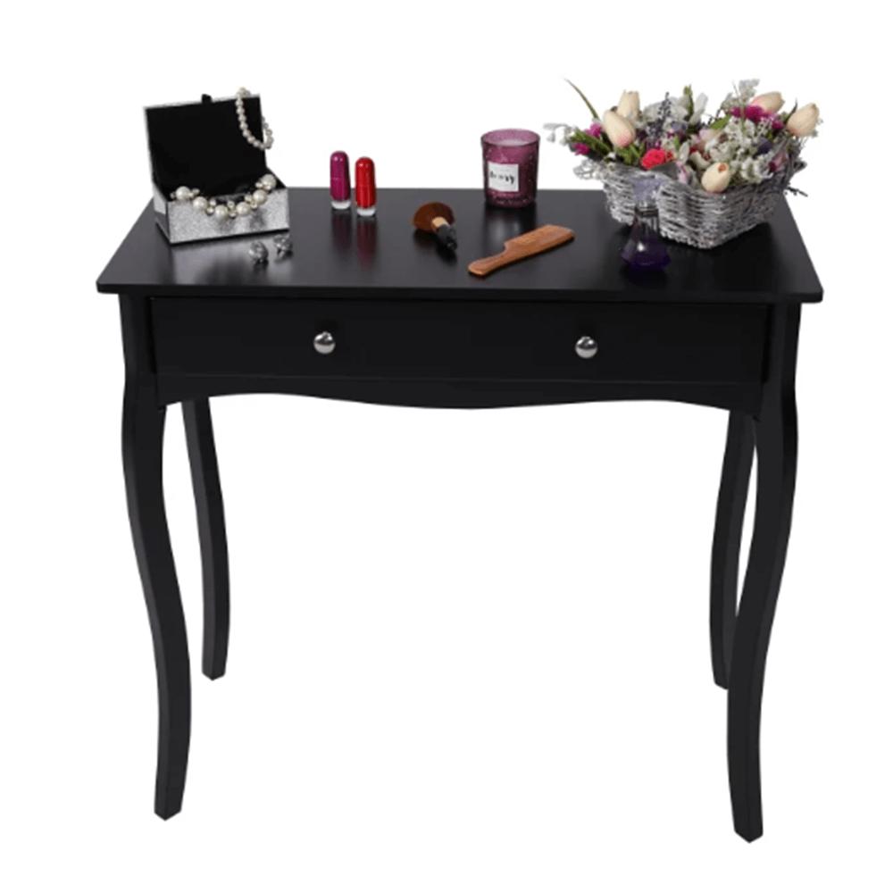 Konzolový stolík, čierna, DENON
