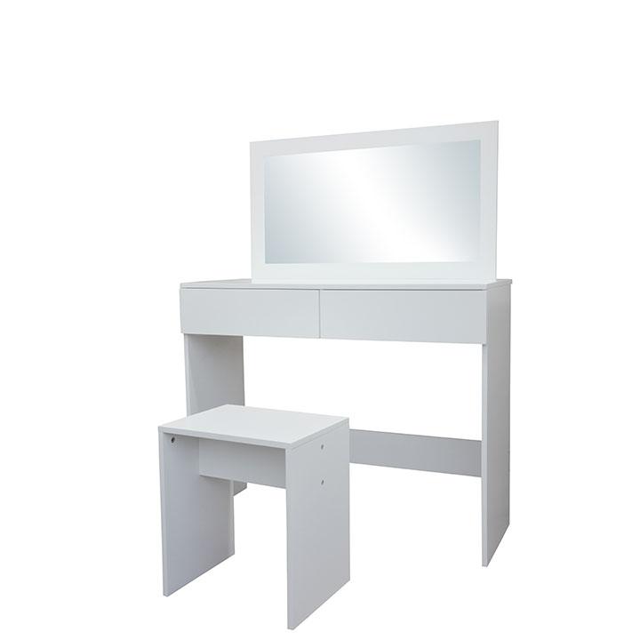 Toaletný stolík, toaletka, biela, LILIEN
