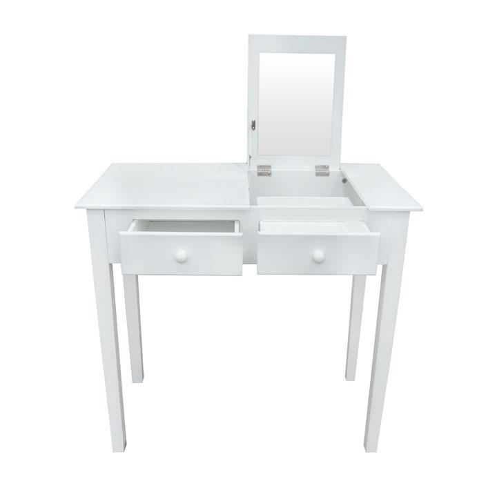 Toaletný stolík, toaletka, biela, LUZIA