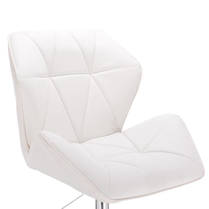 TEMPO KONDELA Kancelárske kreslo, biela, TWIST - Tempo nábytek
