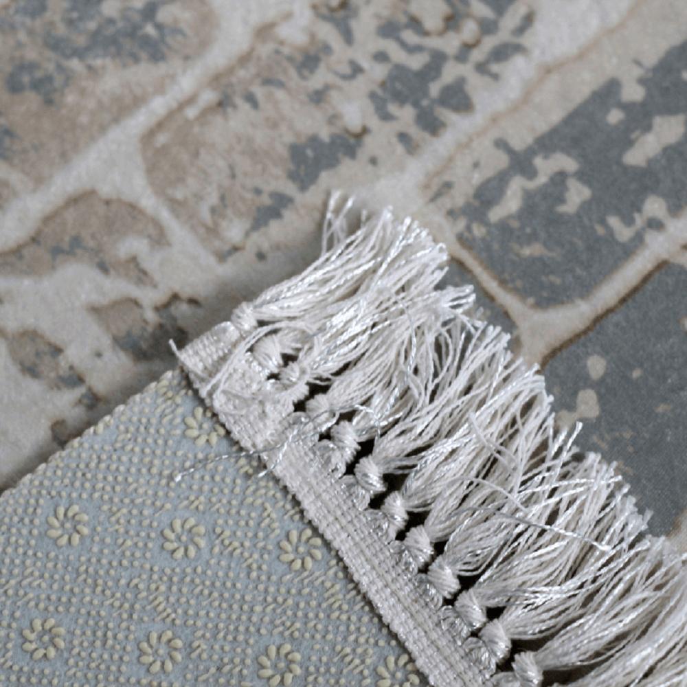 Szőnyeg,szürke/tégla minta  120x180, MURO