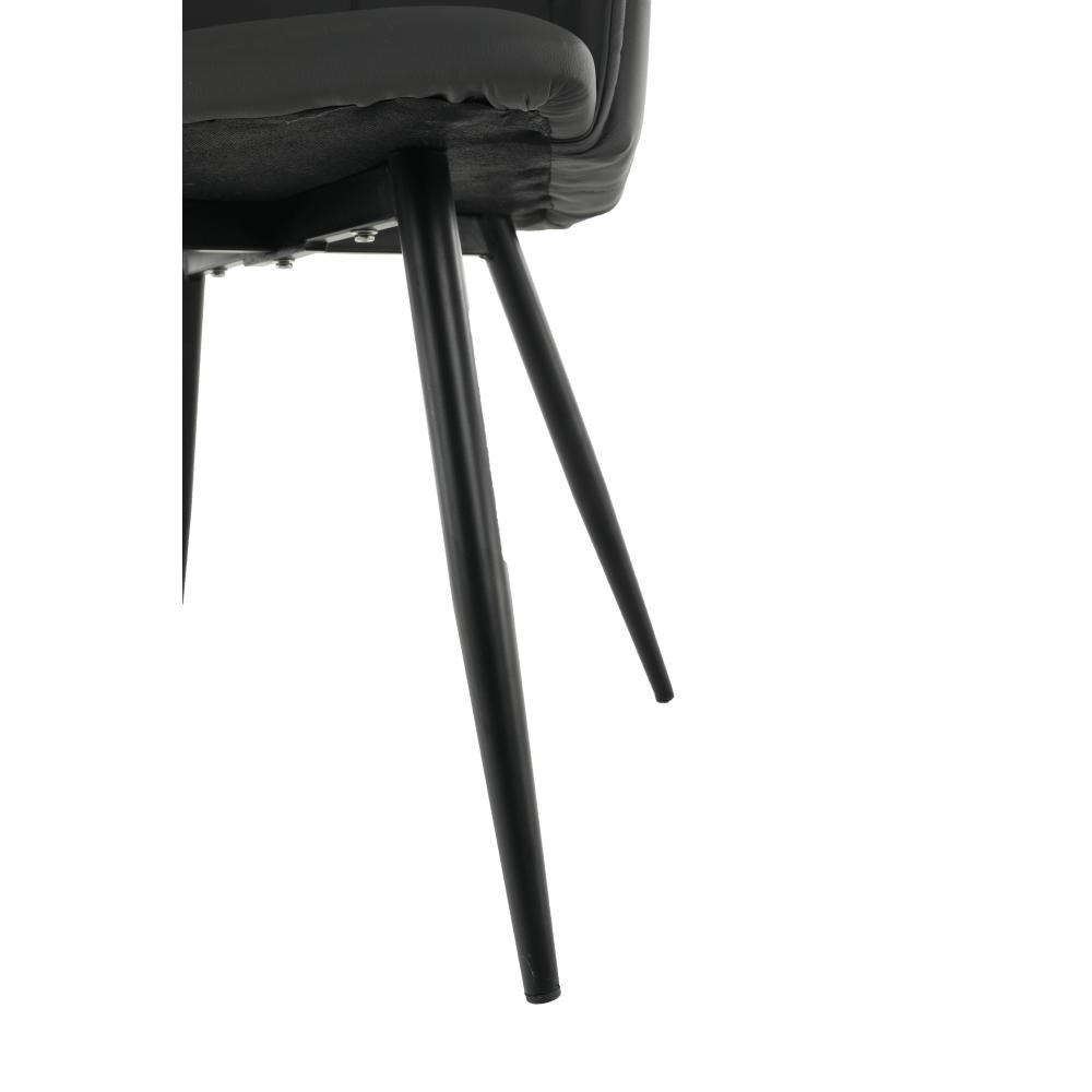 Designové křeslo, šedá TAUPE / černá, KOMBO