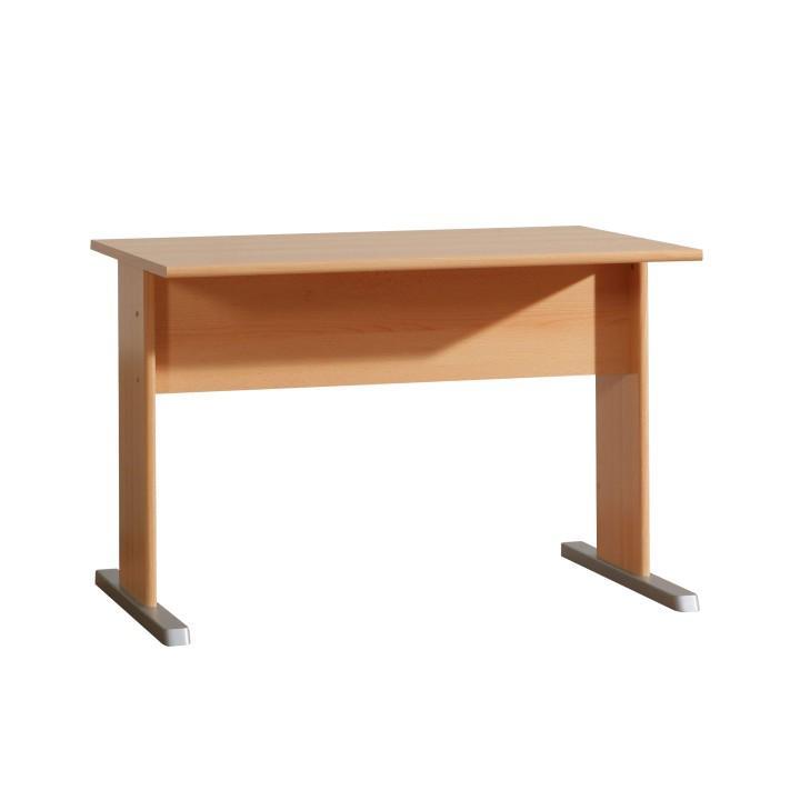 TEMPRA 13 számítógépasztal, bükkfa
