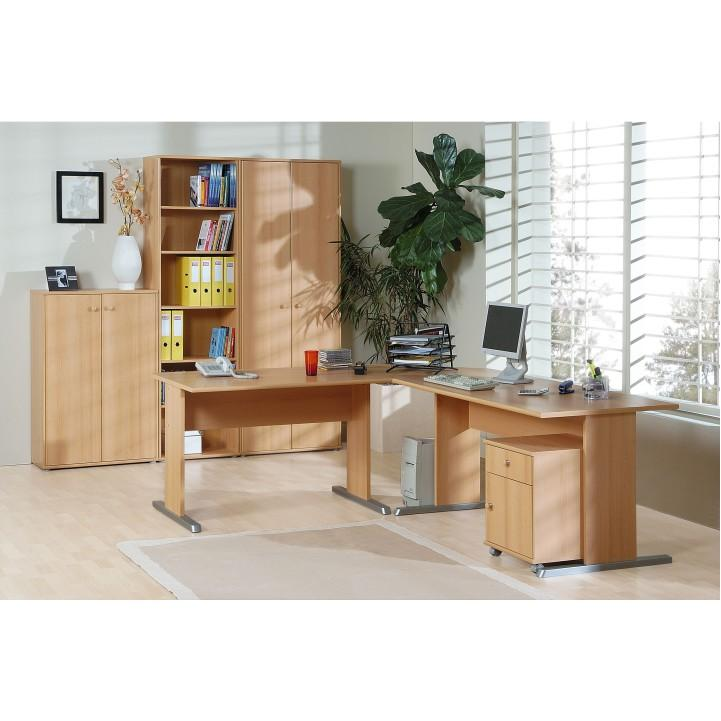 TEMPO KONDELA Kancelársky stôl, buk, TEMPRA 13 - Tempo nábytek