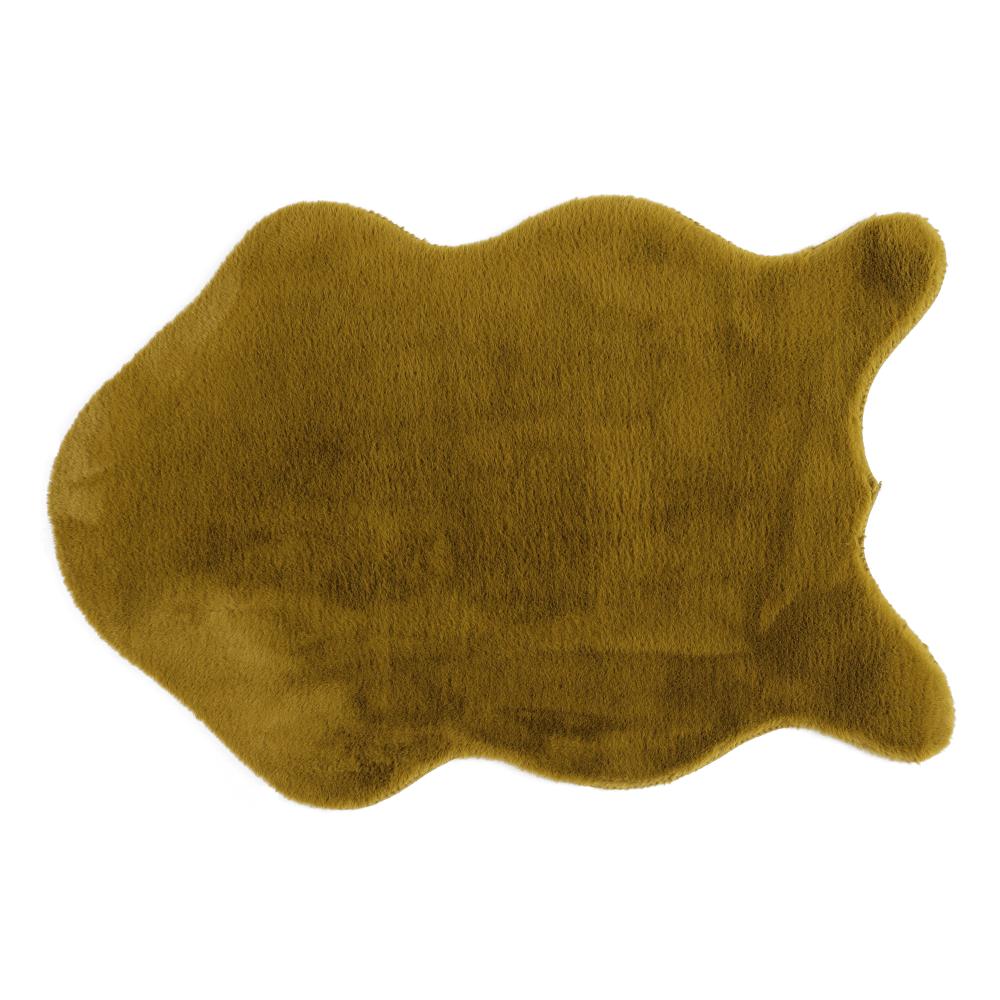 Umelá kožušina, zelená-greenery, 60x90, RABIT NEW TYP 8