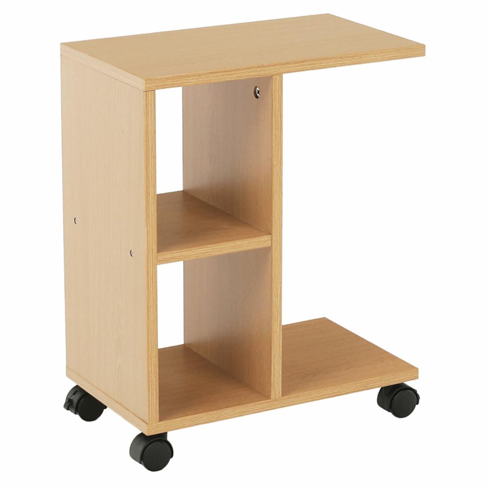 Príručný stolík, drevo borovica, ABBAS NEW