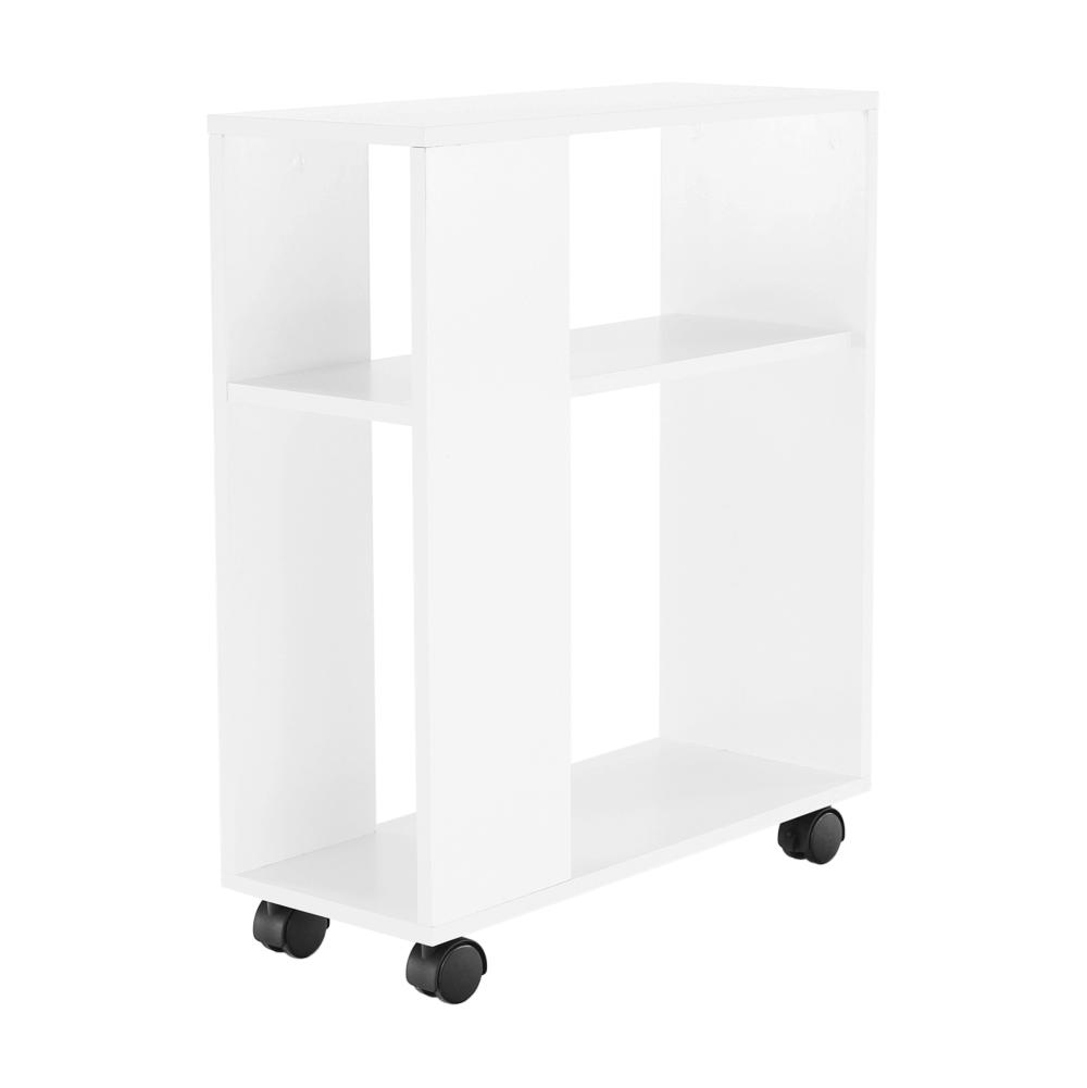 Príručný stolík, biela, ZOELA NEW
