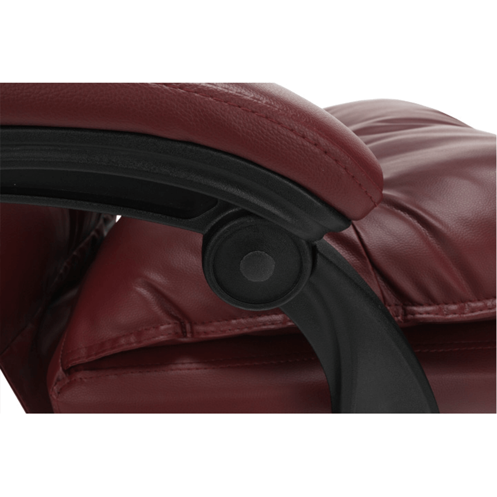 Irodai szék lábtartóval