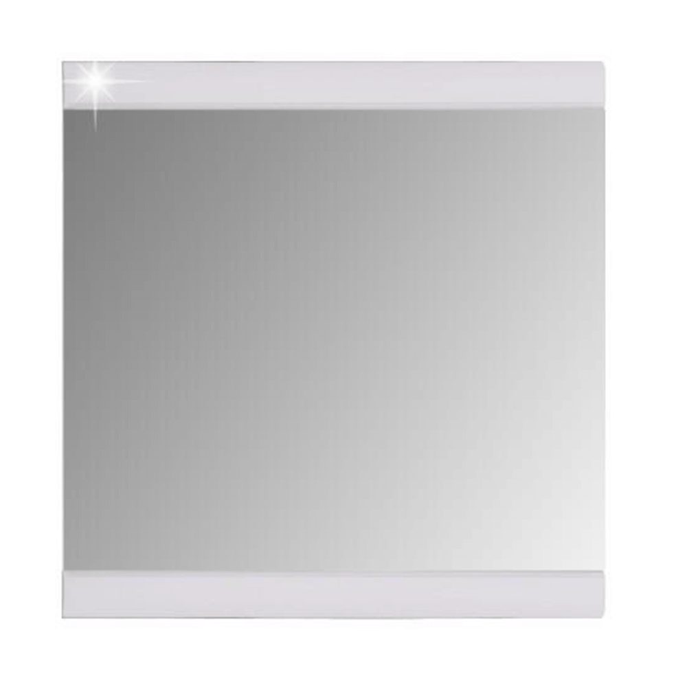 Zrcadlo, bílá / bílá extra vysoký lesk, DERBY 54-260-17