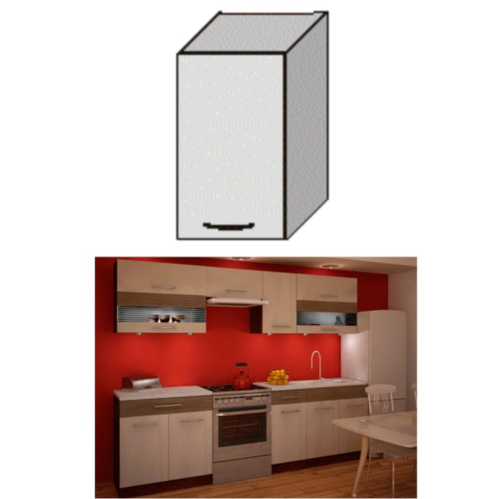 Dulap bucătărie, rigoleto dark+light/wenge, JURA NEW IA G-40