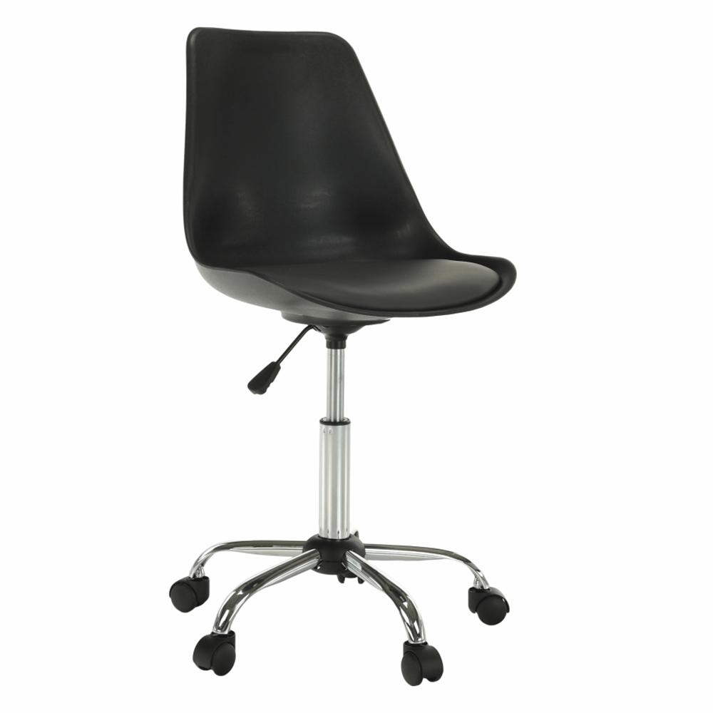 Irodai szék, fekete/sötétszürke, DARISA