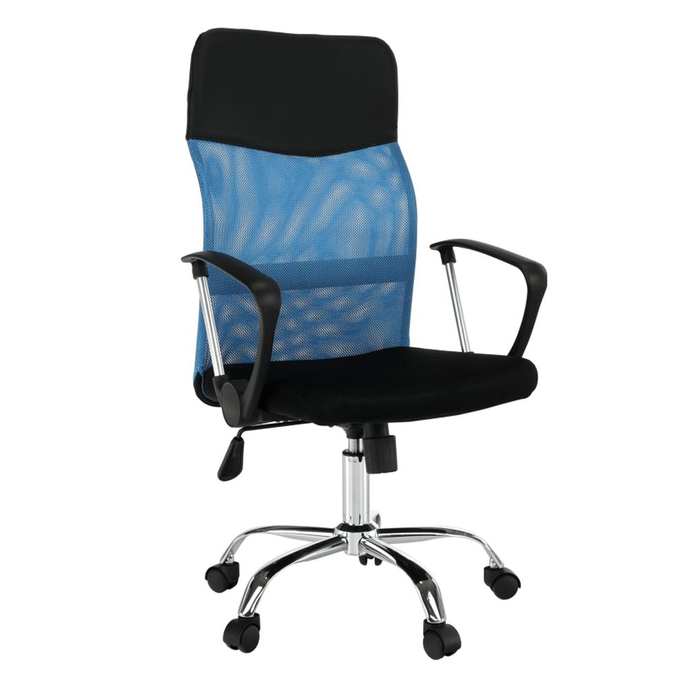 Scaun birou, albastru/negru, TC3-973M 2 NEW