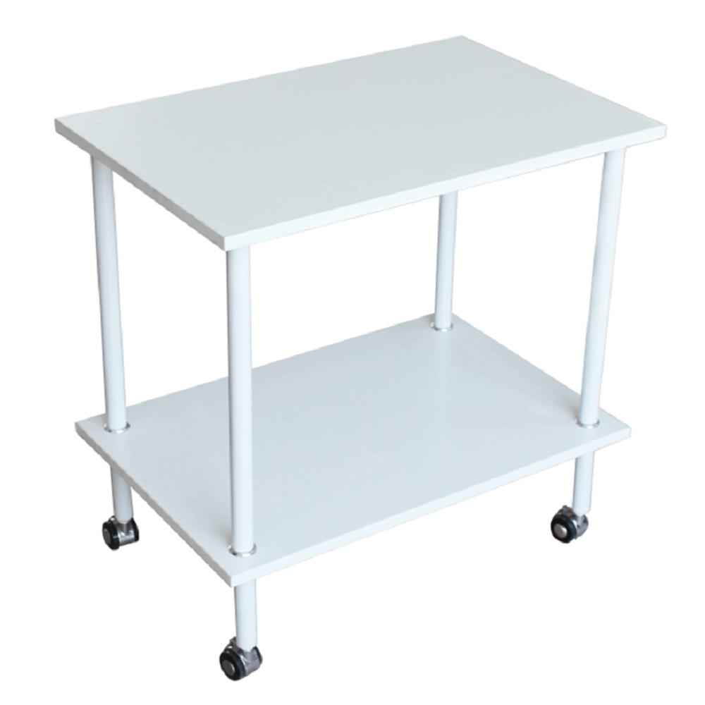 Príručný stolík, matná biela, LABON
