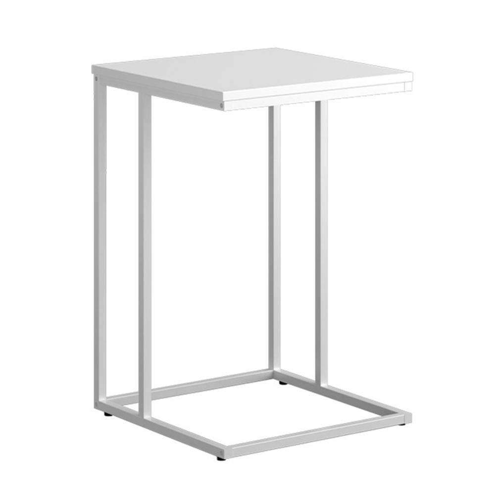 Príručný stolík, biela, KALA