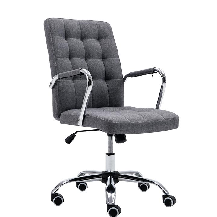 Kancelárske kreslo, sivá, MORGEN