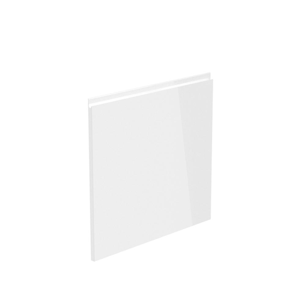 Dvierka na umývačku riadu, biela extra vysoký lesk HG, 59,6x57, AURORA