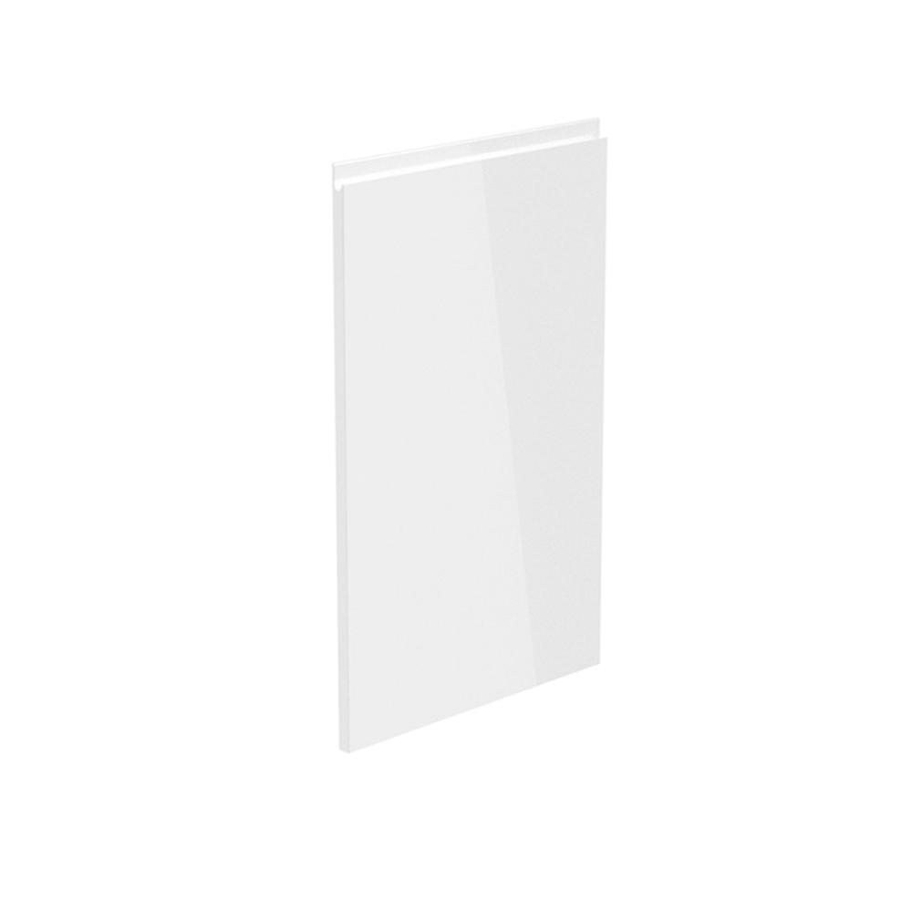 Dvierka na umývačku riadu, biela extra vysoký lesk HG, 59,6x71,3, AURORA