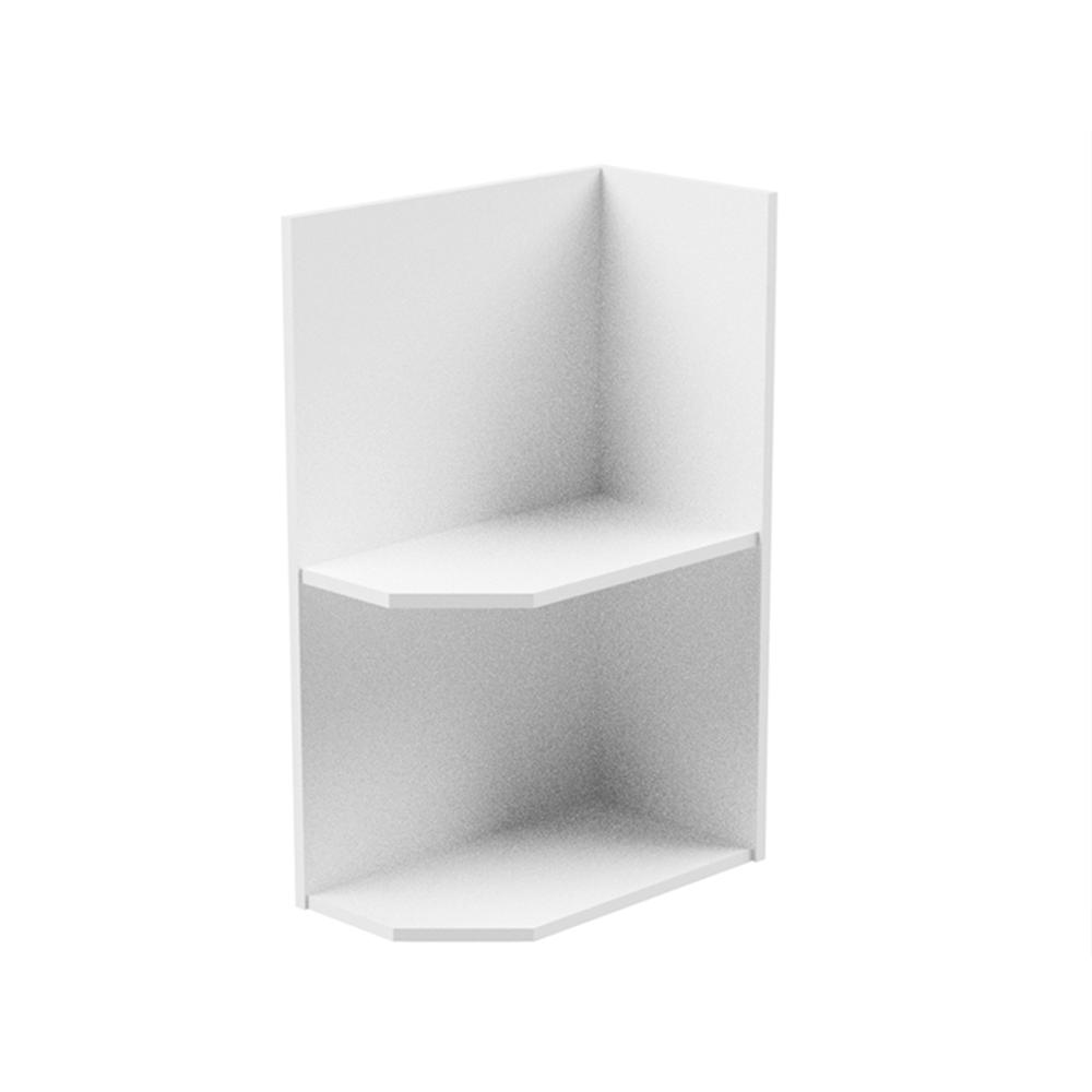 Spodná skrinka, biela, pravá, AURORA D25PZ