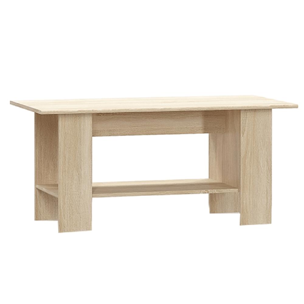 Konferenčný stolík, dub sonoma, TEYO