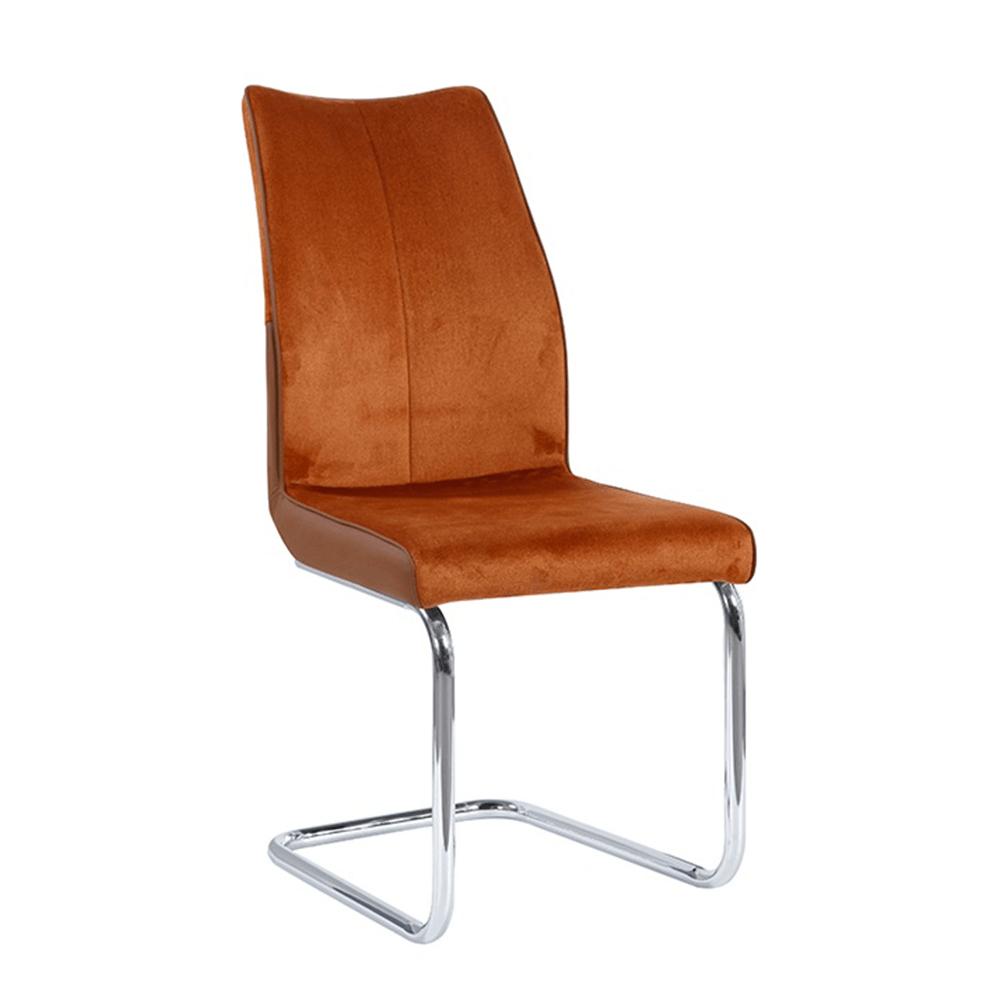 Jídelní židle, cihlová / cihlová, FARULA, TEMPO KONDELA
