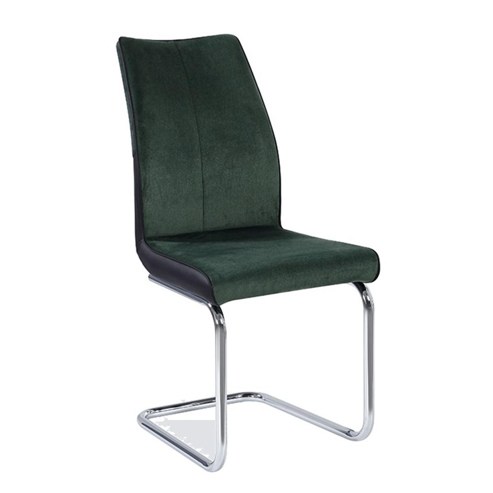 Jídelní židle, smaragdová / černá, FARULA