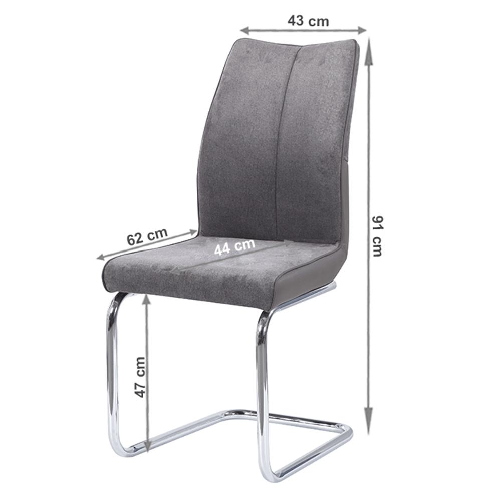 Jedálenská stolička, Taupe sivohnedá/sivá, FARULA