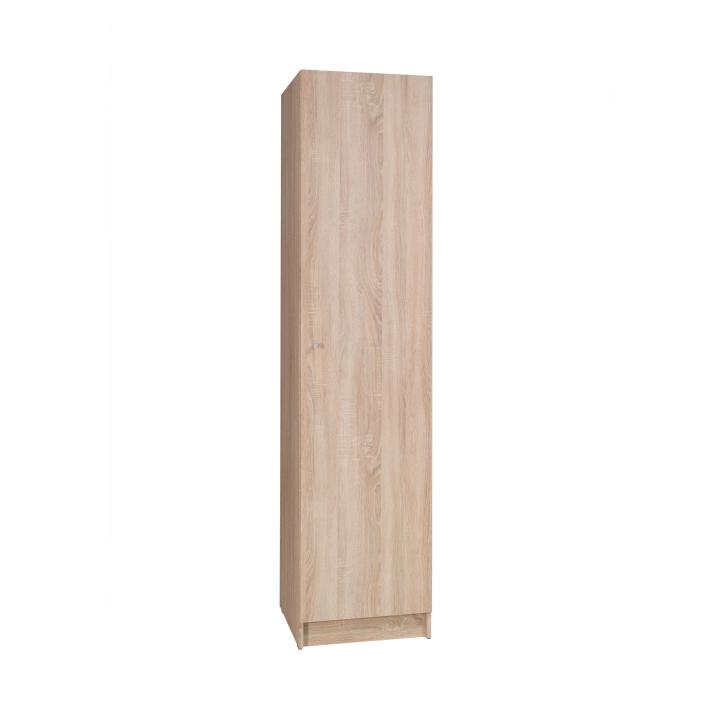 1-dverová skriňa, dub sonoma, MEXIM
