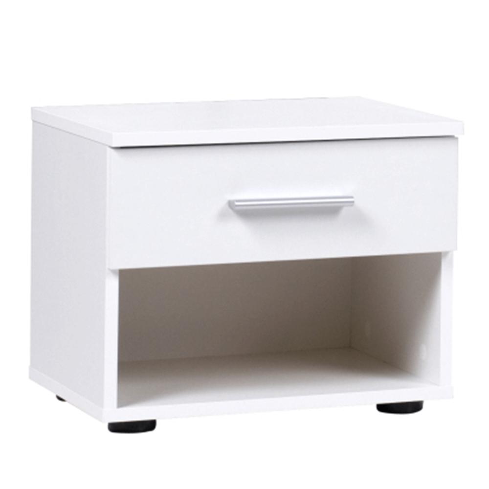 Nočný stolík (2ks), biela, IKOMO