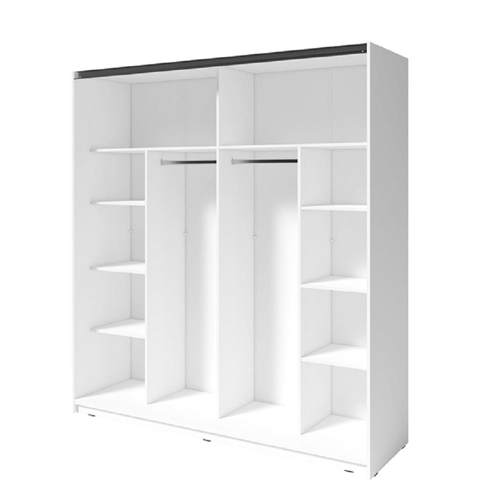 2- dveřová skříň, bílá, RAMIAK