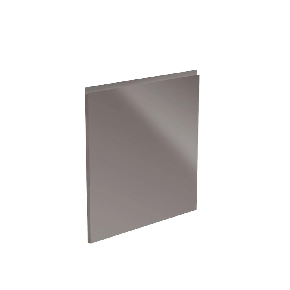 Dvierka na umývačku riadu, biela/sivá extra vysoký lesk HG, 59, 6x57, AURORA