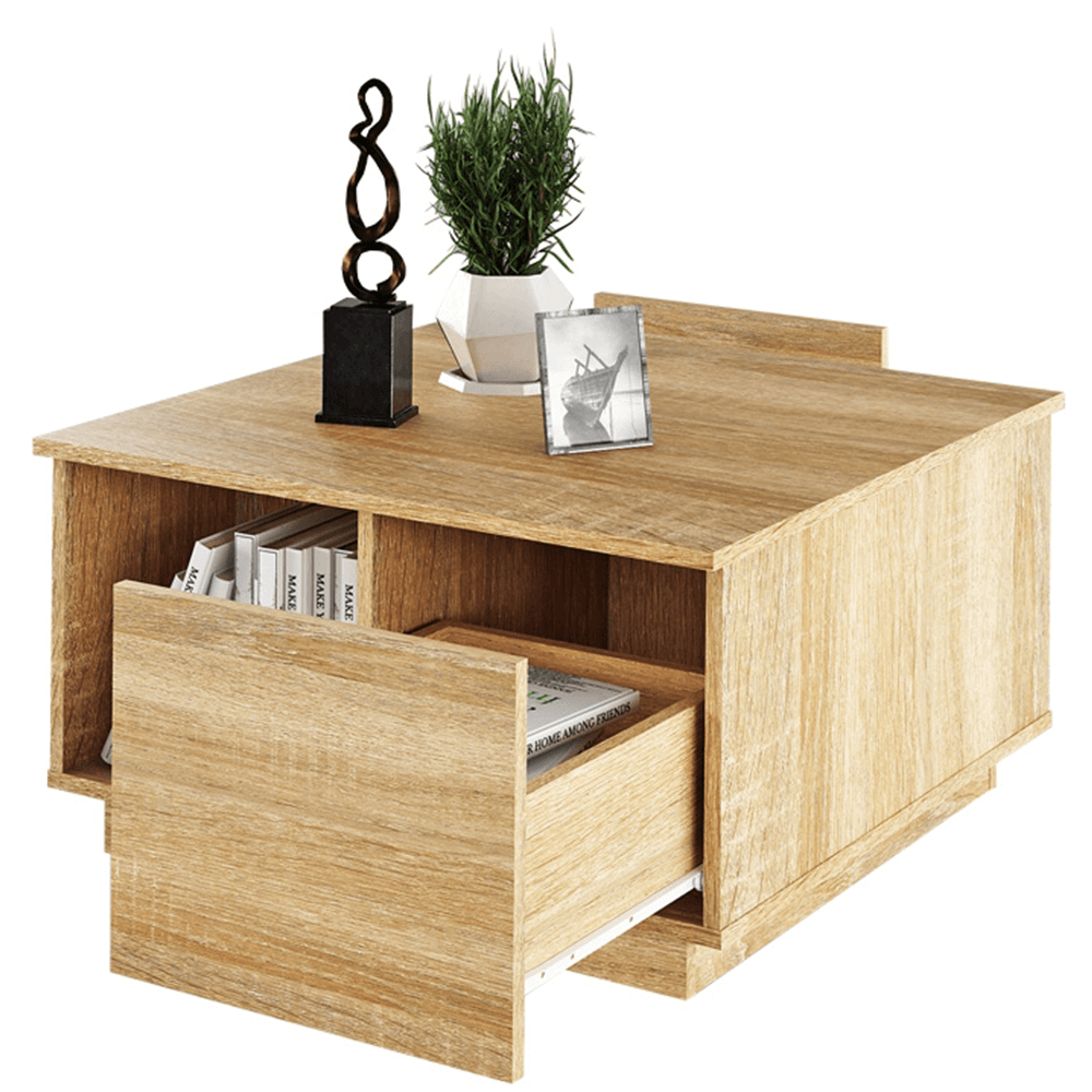 Konferenčný stolík, dub sonoma, DALAN