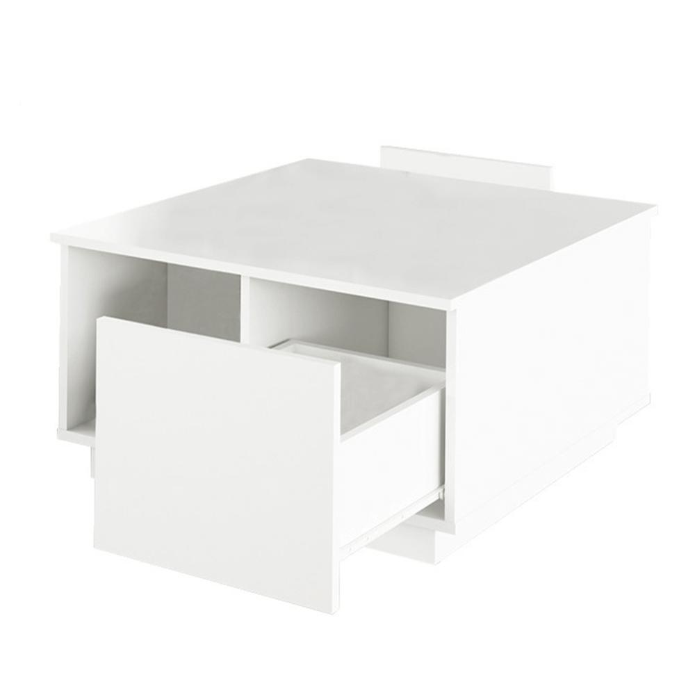 Konferenčný stolík, biela, DALAN