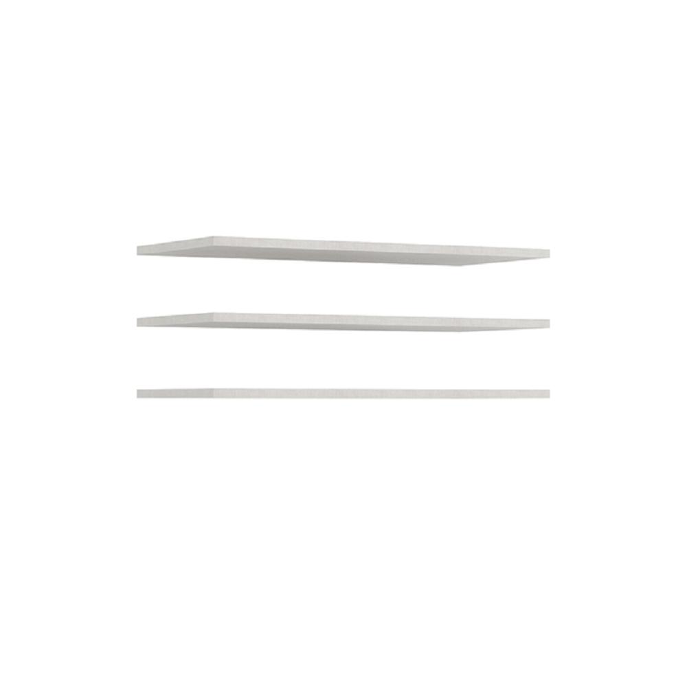 Polcok (3db), fehér, UTAH