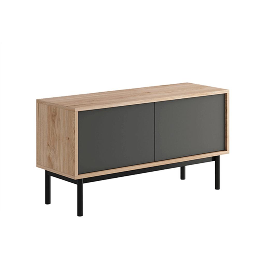 RTV asztal, tölgy jaskson hickory/grafit, BERGEN BRTV104