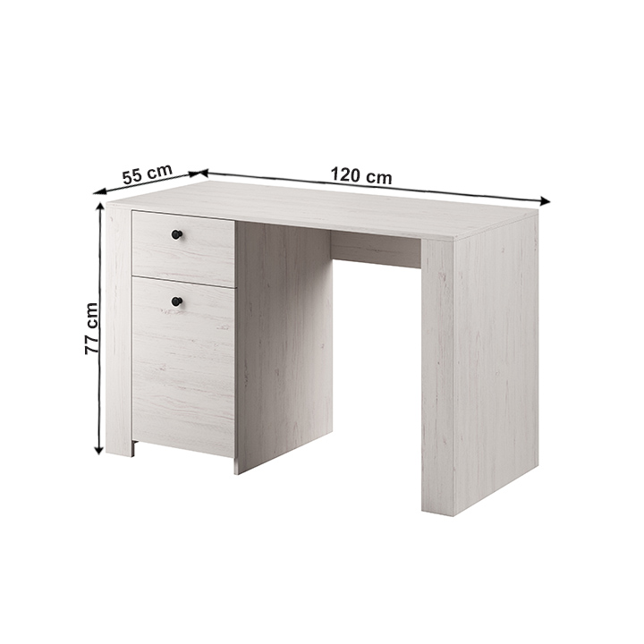 PC asztal, sosna andersen, VINCE RB120