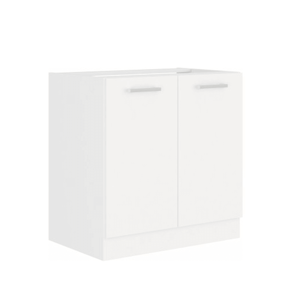 Drezová skrinka, biela, SPLIT 80 ZL 2F BB