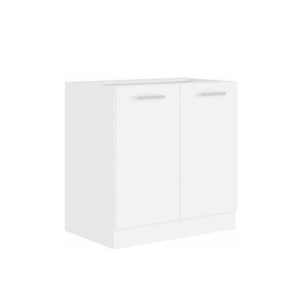 Spodná skrinka, biela, SPLIT 80 D 2F BB