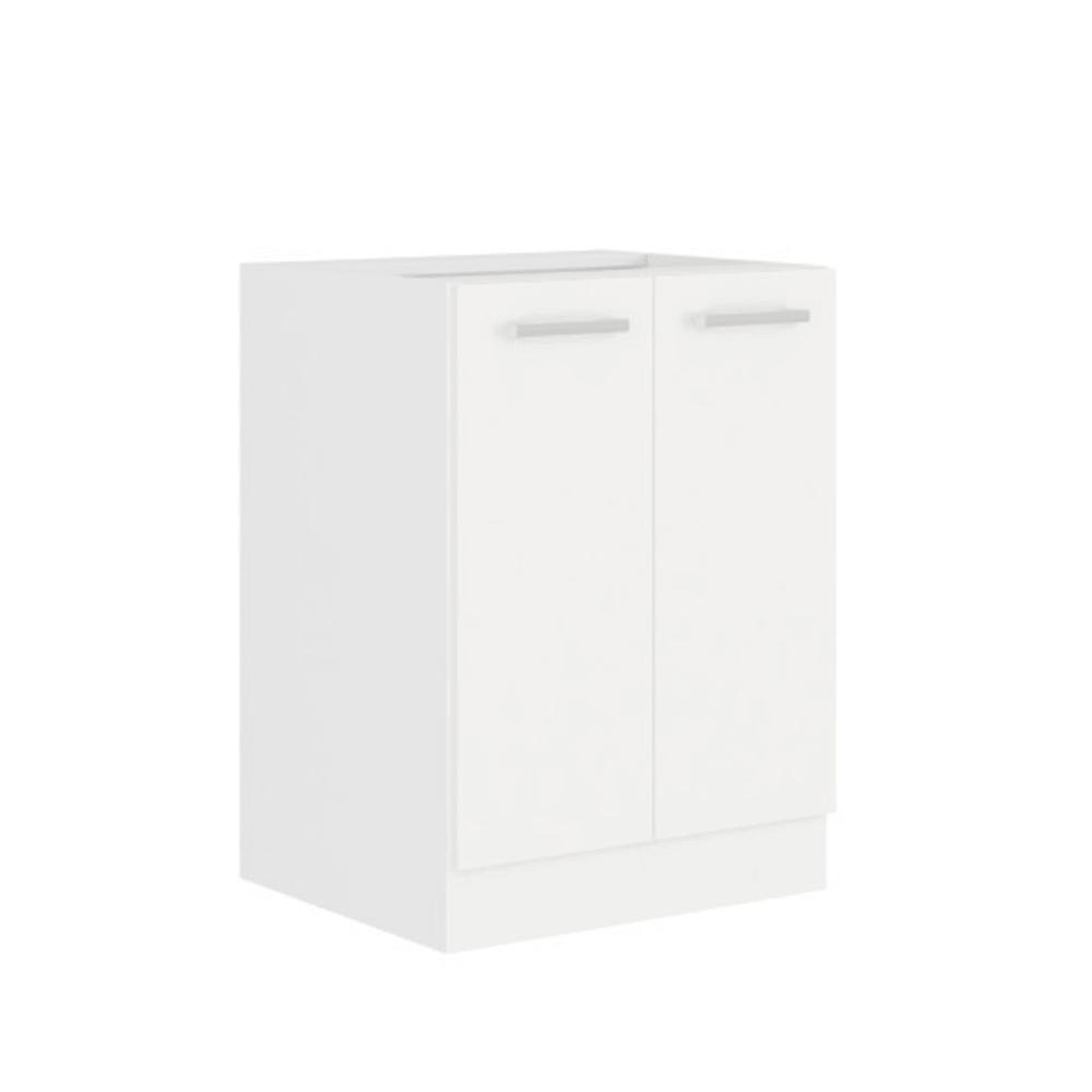 Spodná skrinka, biela, SPLIT 60 D 2F BB