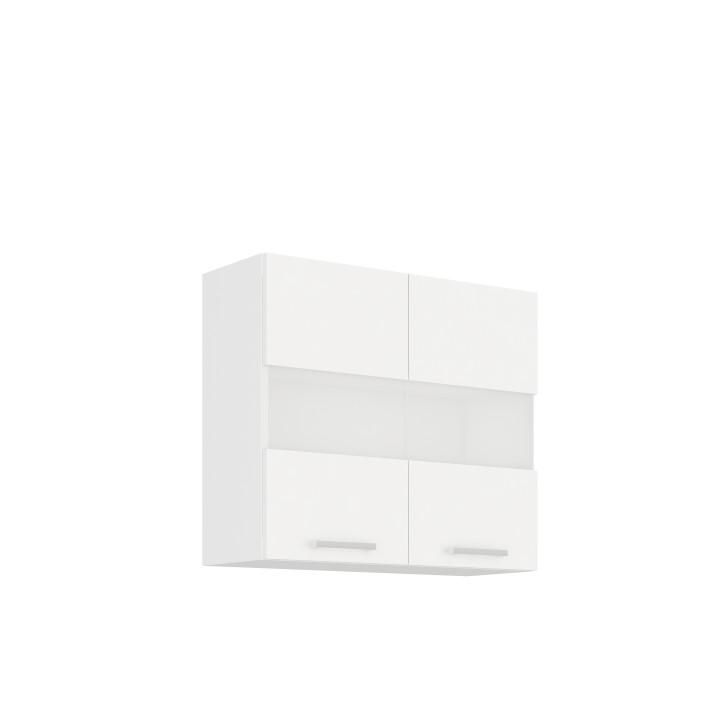 Horná skrinka, biela, SPLIT 80 GS-72 2F