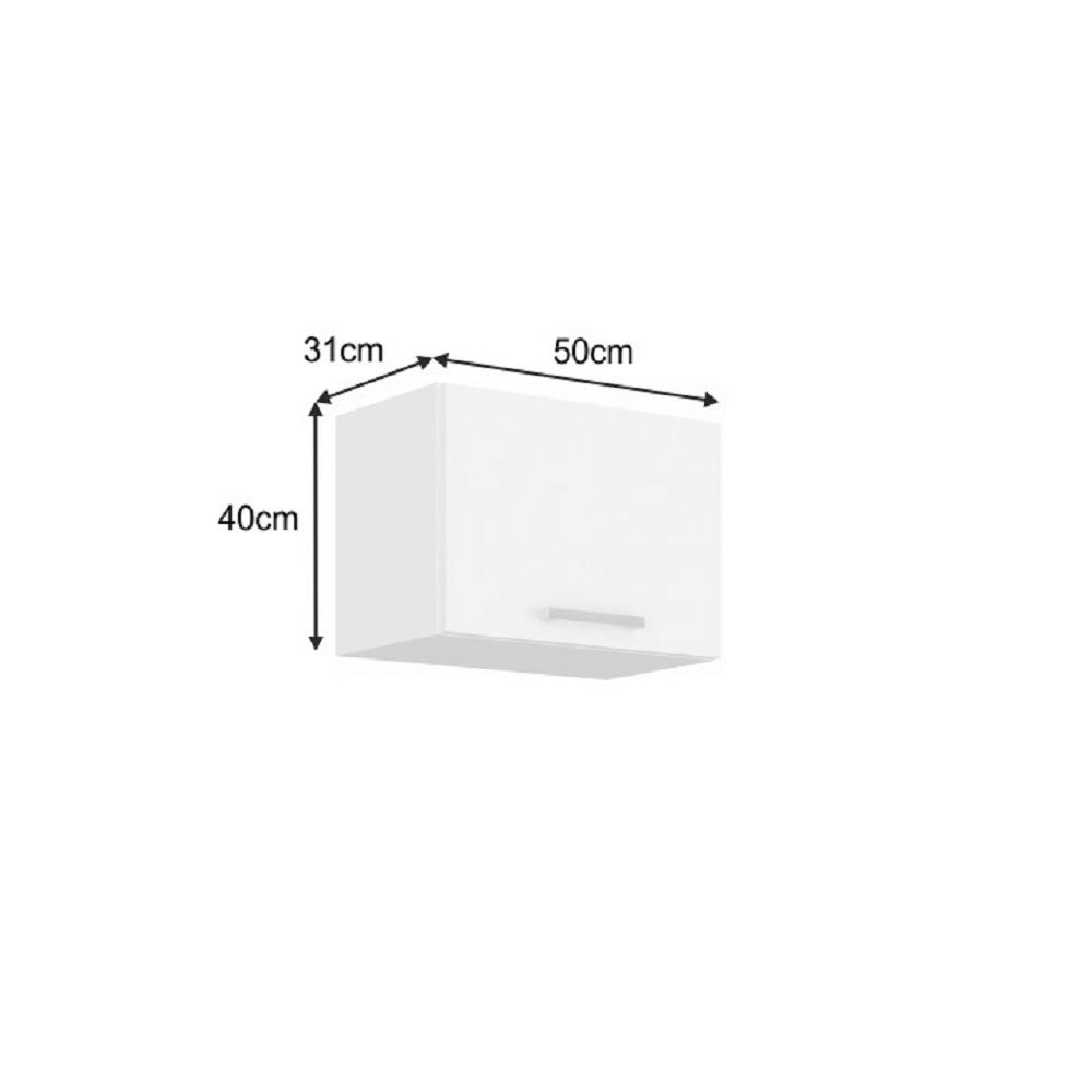 Horní skříňka, bílá, SPLIT 50 OK-40