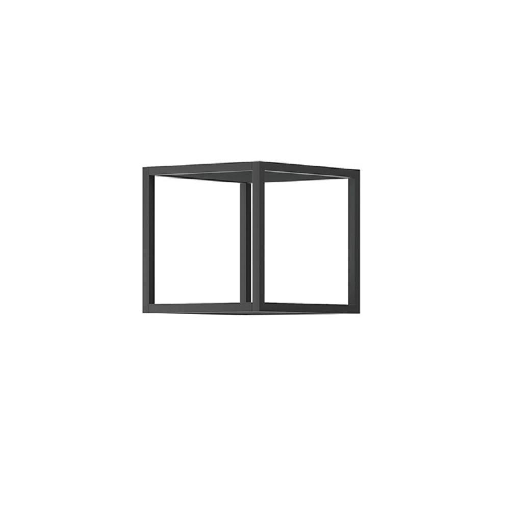 Raft metalic, negru, SPRING EP30